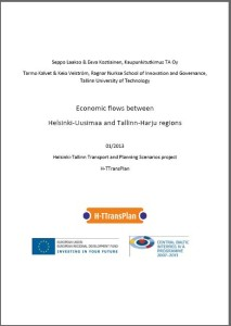 Kansilehti Economic flows berween HU and TH regions